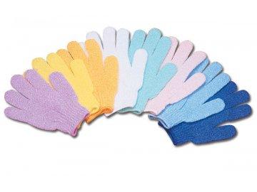 Masážní a peelingové rukavice