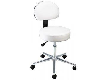Židle kosmetická s opěrkou BEAUTY