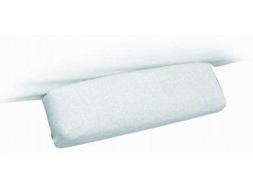 Froté návleky na kosmetické lehátko područky bílé 40x10 cm