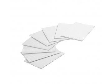 Jednorázové hygienické ubrousky bílé 80 ks