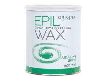 Depilační vosk EPIL WAX v plechovce SENSITIV 800 ml