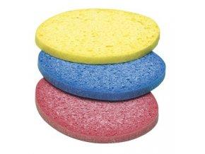 Odličovací houbička kosmetická color 3 ks