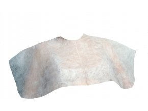 Jednorázová pelerýnka kosmetická z netkané textilie 10 ks