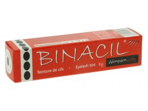 BINACIL Barva na řasy a obočí černá 15 ml
