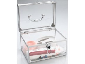 Kosmetický kufr průhledný MINI VANITY