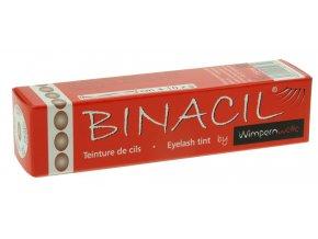 BINACIL Barva na řasy a obočí přírodní hnědá 15 ml