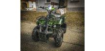 Dětská čtyřkolka Hummer 800w zelená +DO