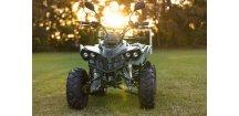 Dětská čtyřkolka Toronto RX Deluxe 125cc 3G8 zelený maskáč