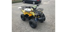Dětská čtyřkolka Hummer 125cc 1G7 -žlutý maskáč