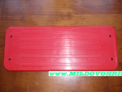 houpačka veřejná červená JF 001