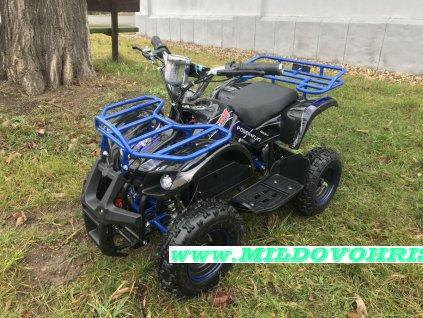 Dětská čtyřkolka Hummer 800w modrá +DO