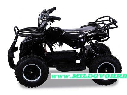 Dětská čtyřkolka Hummer 800w černá