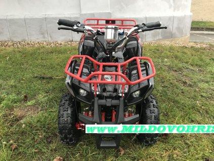 Dětská elektro čtyřkolka ATV Hummer 1000w - červený