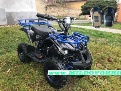 Dětská elektro čtyřkolka ATV Hummer 1000w - Černý