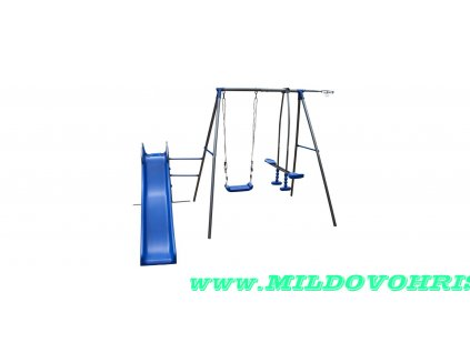 Kovové hřiště 4IQ Tymek modré
