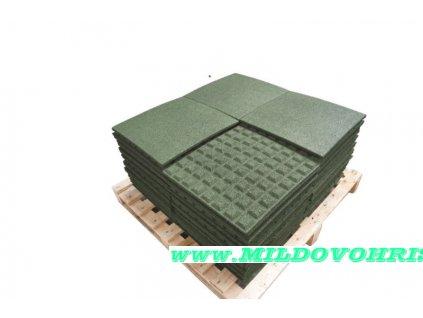 pryzova deska 0 5x0 5 m zelena vyska padu 1m p31683