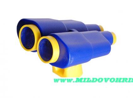 dalekohled velky modry