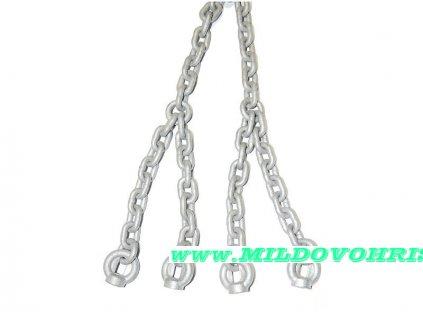 řetěz galvanizovaný