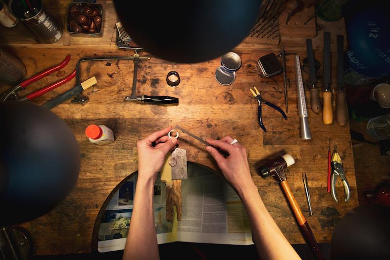 Výroba prstenů s Janem Vlasákem