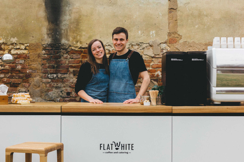 FlatWhite coffee catering