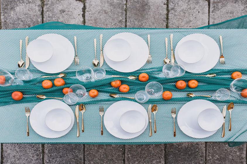 PRVNÍ POMOC: Prostřené stoly