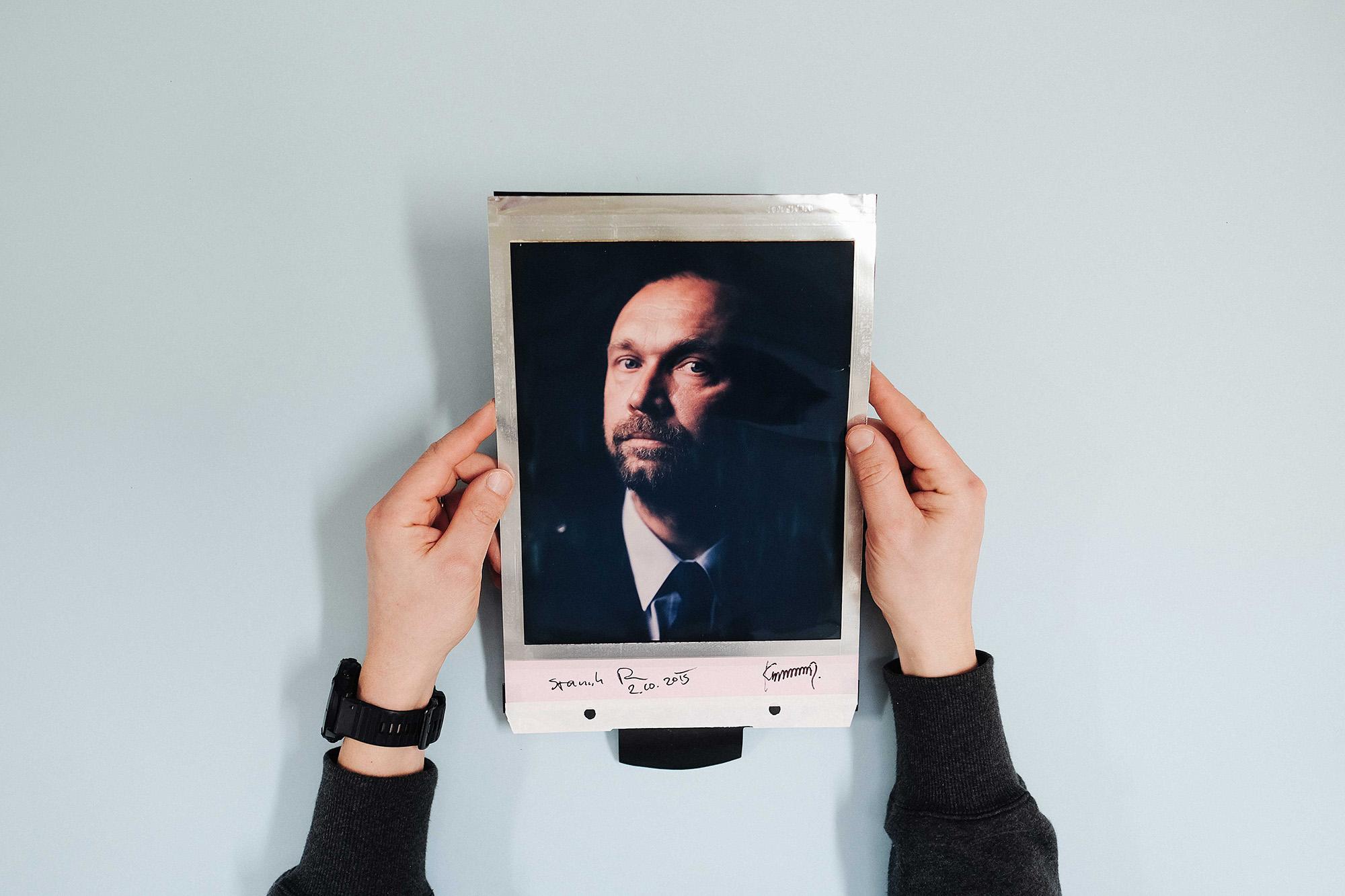 ZAUJALO NÁS: Svatební focení na velkoformátový Polaroid