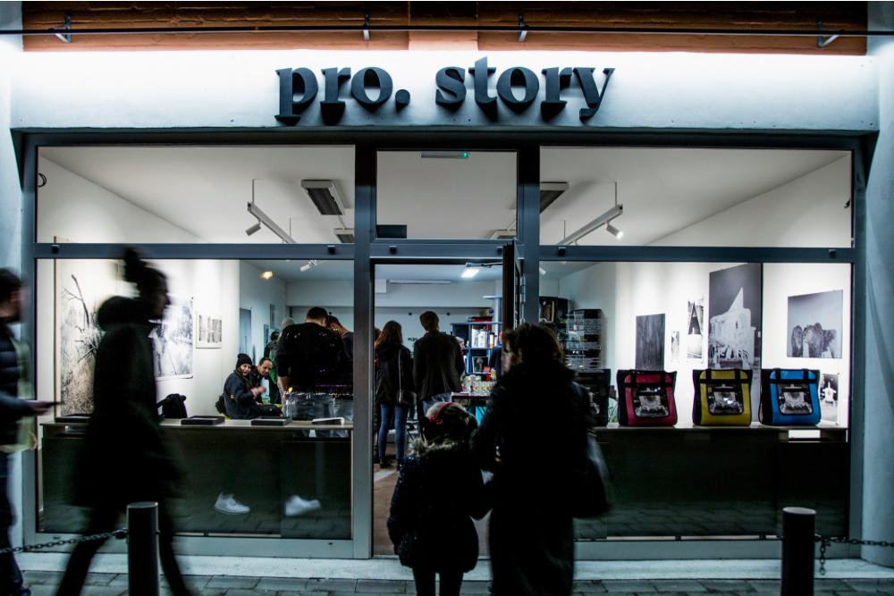 Ateliéru a showroomu pro.story