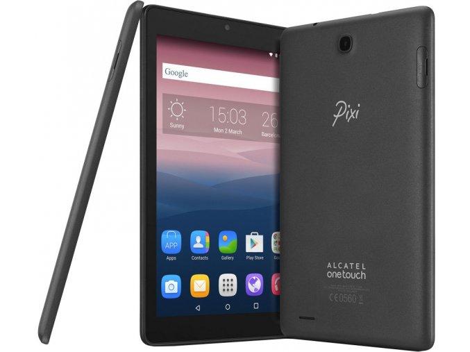 Alcatel Pixi 3 (8) LTE - Šedý  ROZBALENO - MEGA AKCE!!