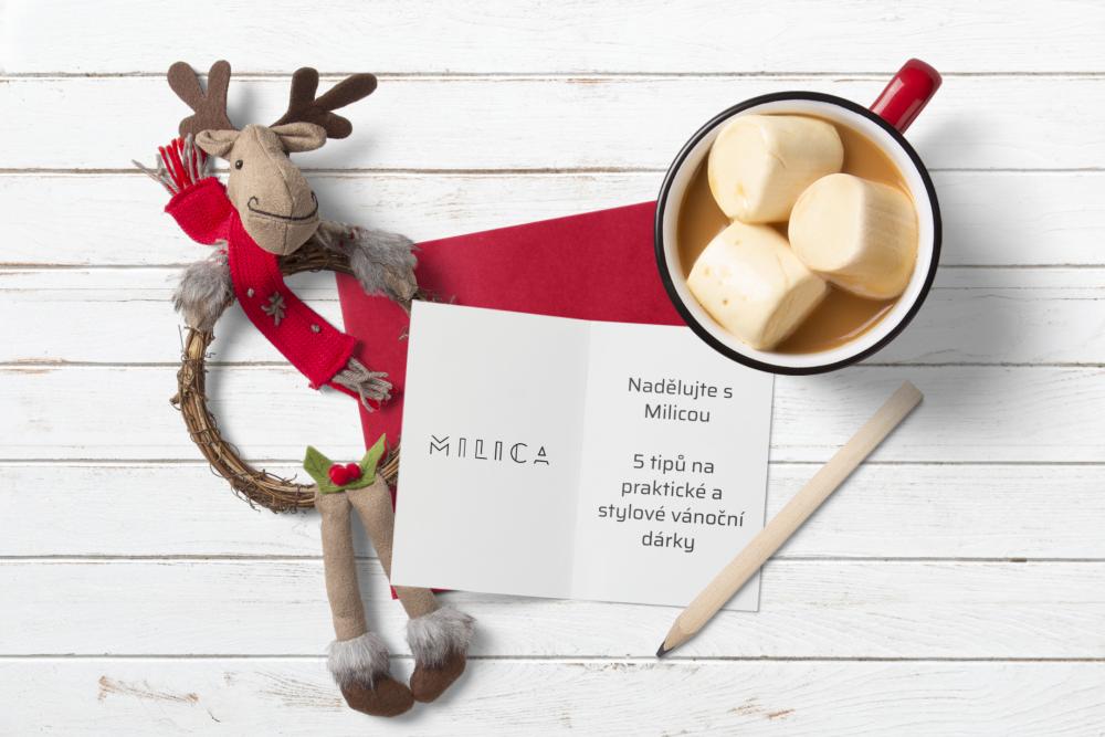 Nadělujte s Milicou - 5 tipov na praktické a štýlové vianočné darčeky