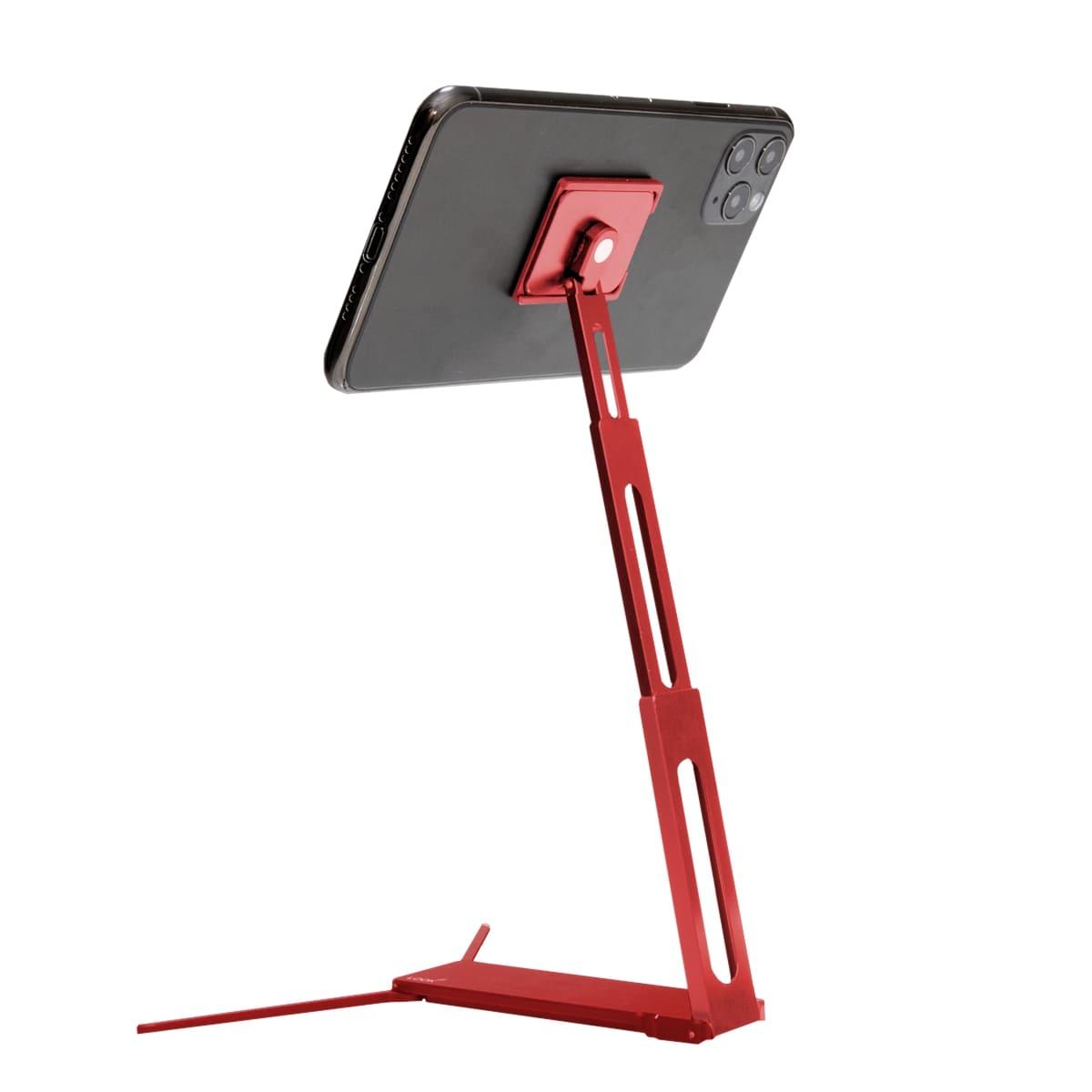 Lookstand® kompaktný podstavec pre mobilný telefón Farba: Červená