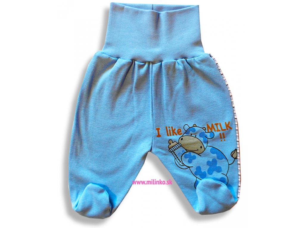 Polodupačky pre bábätká - Milk, modré