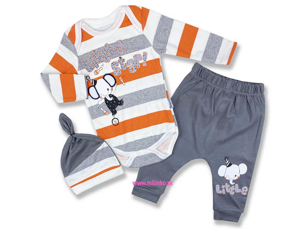 oblečenie pre bábätká sloník