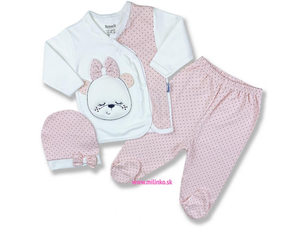 kojenecké oblečenie set pre bábätká plýs