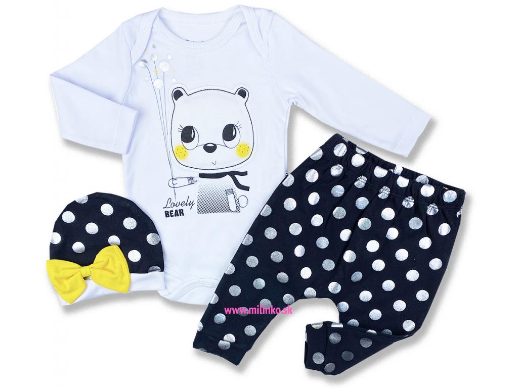 oblečenie pre bábätká lovly bear