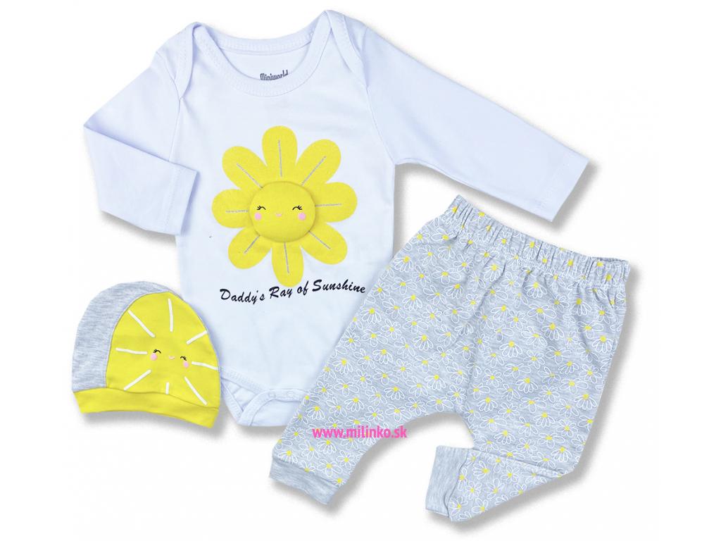 oblečenie pre bábätká ocinove srdiecko