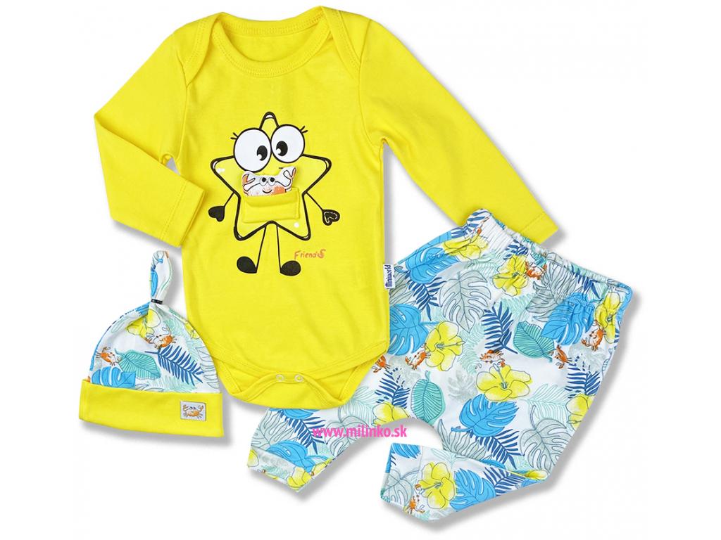 kojenecké oblečenie set friends