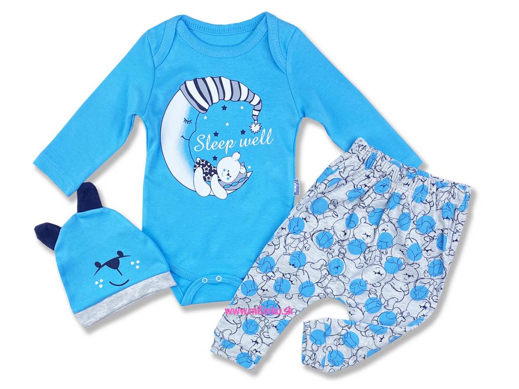 oblečenie pre bábbätká set mackoJO