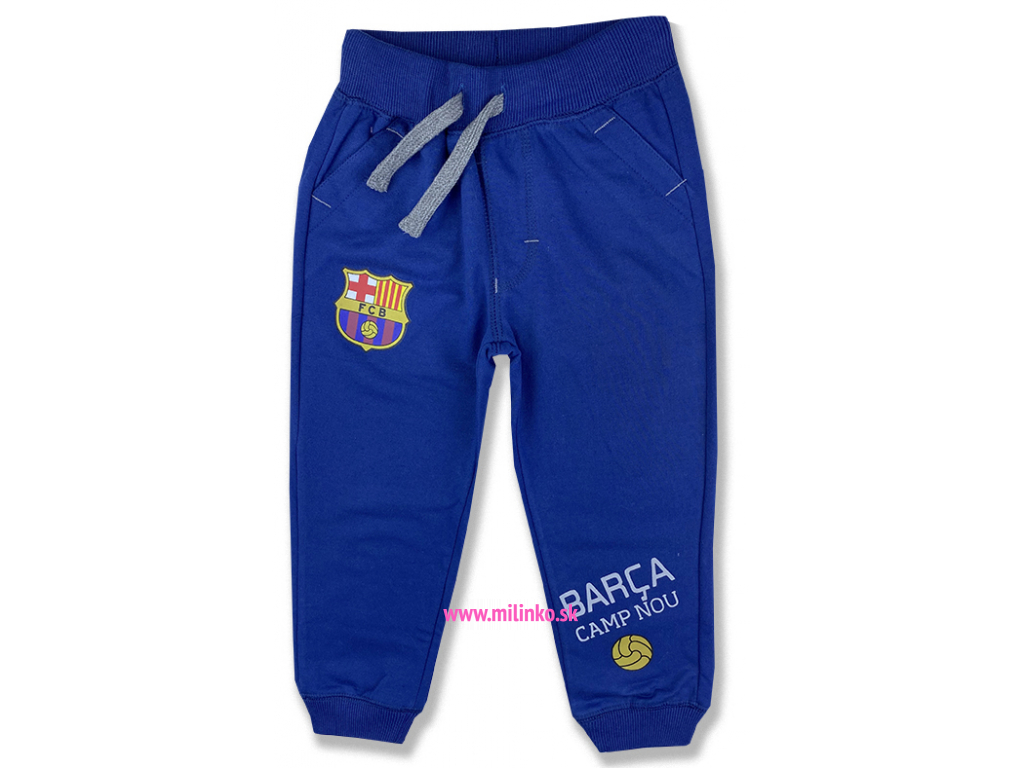detské teplákové nohavice barcelona,