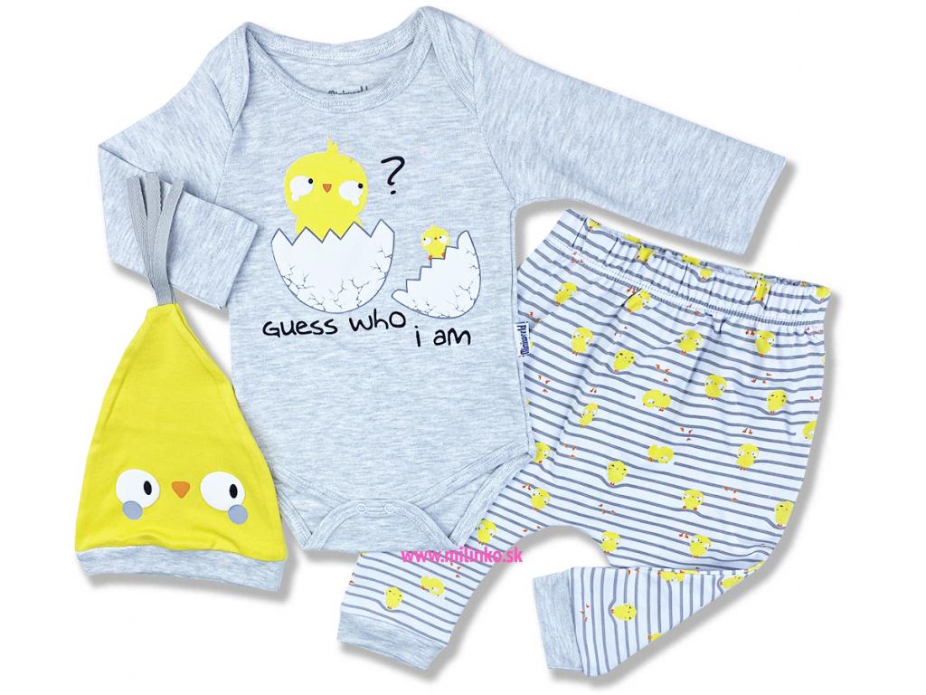 oblečenie pre bábätká kto som