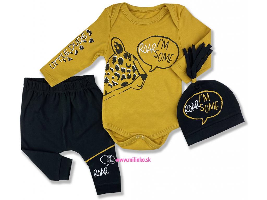oblečenie pre bábätká leopard