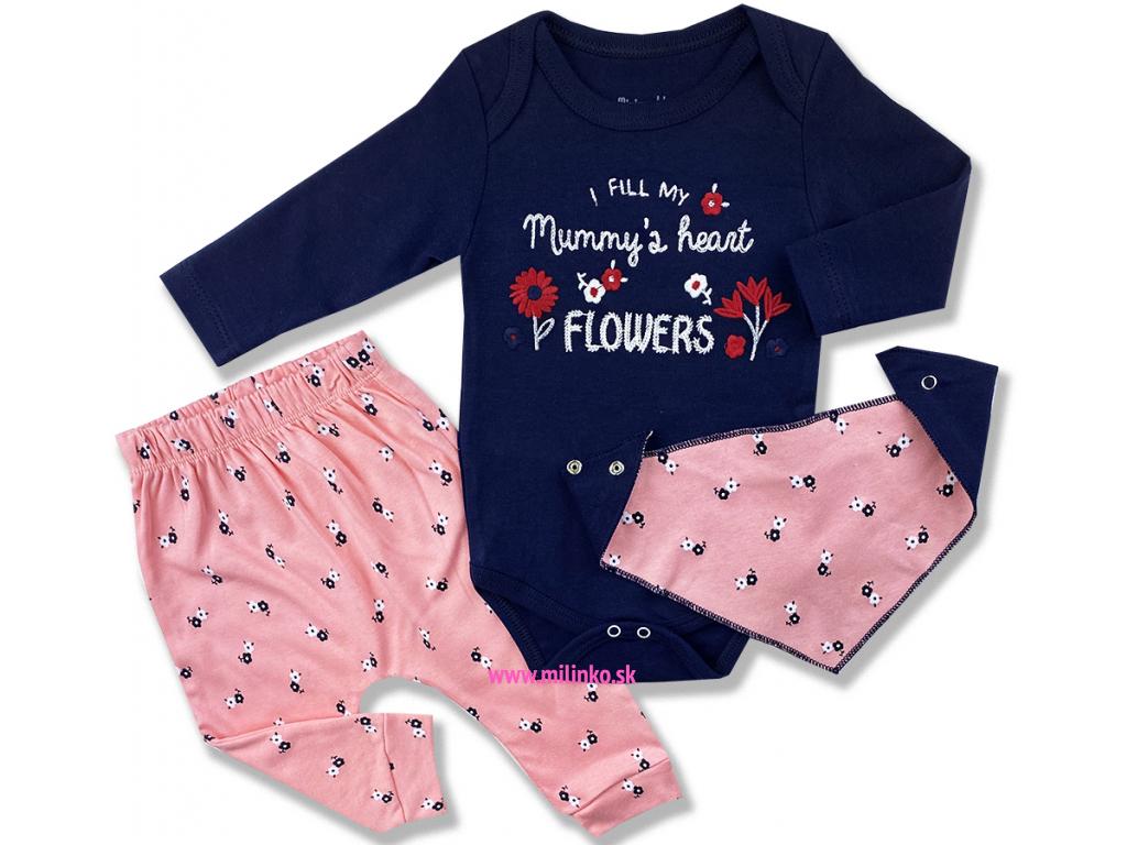 oblečenie pre bábätká naplním mamičkyne srdce kvetinkamy1