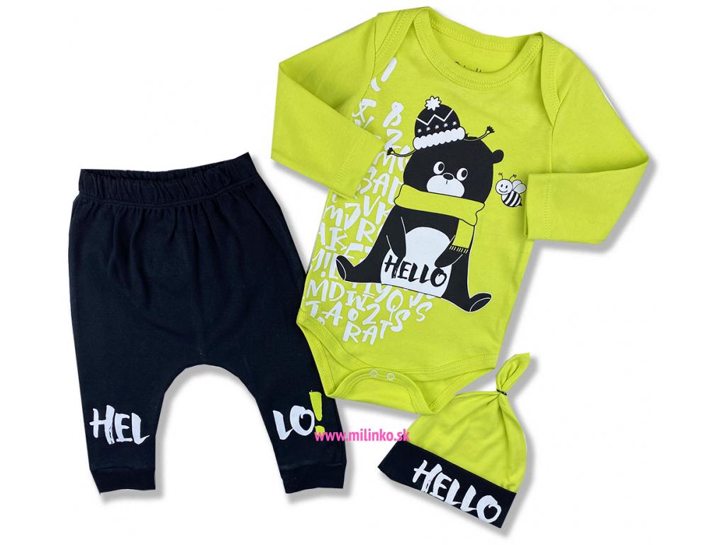oblečenie pre bábätká hello2