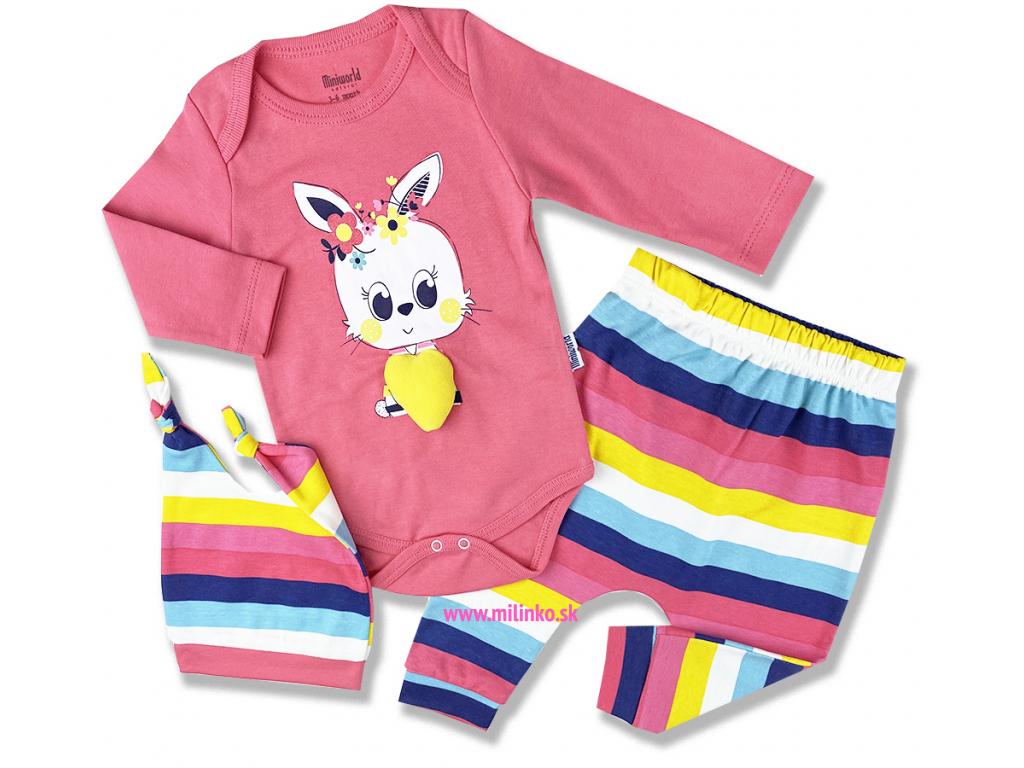 oblečenie pre bábätká zajko1