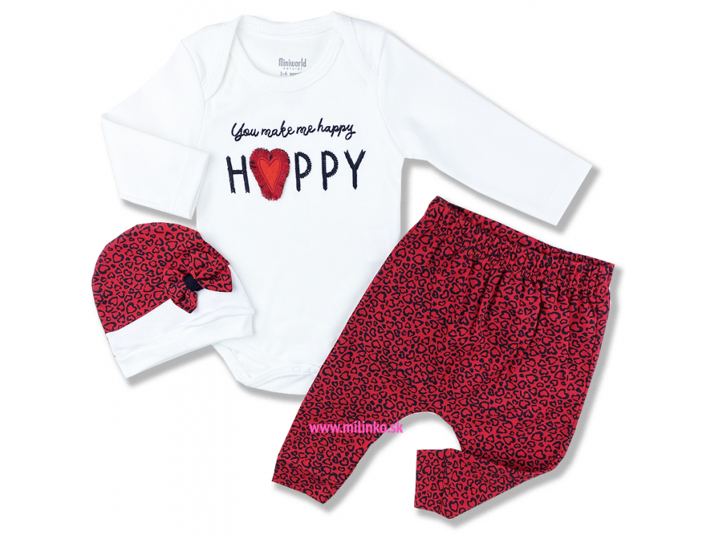 oblečenie pre bábätká happy