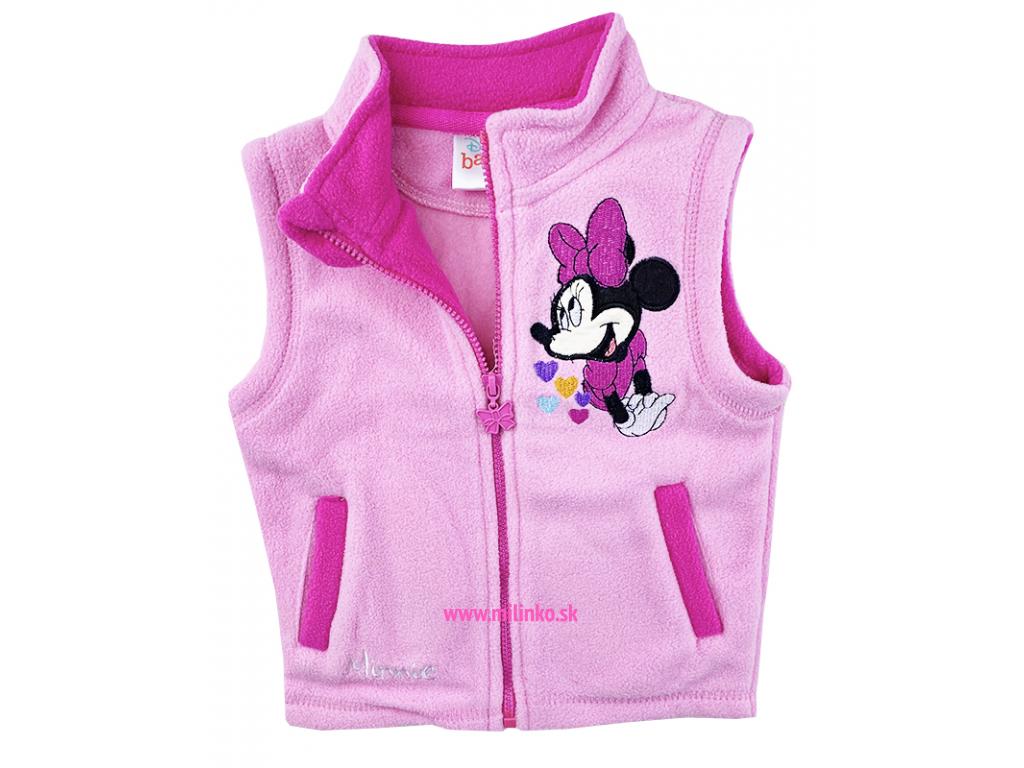oblečenie pre bábätká vesta minnie