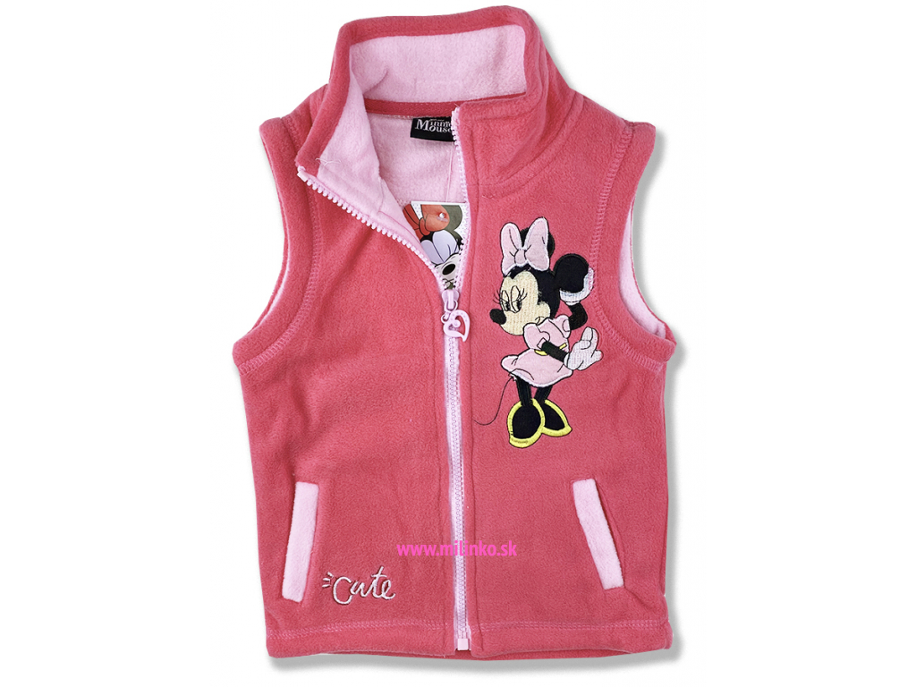 detská vesta minnie mouse Disney1