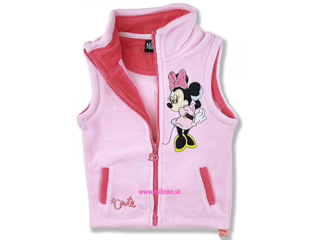 detská vesta minnie mouse Disney2