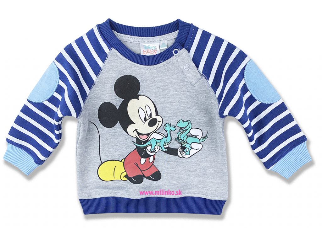 kojenecké oblečenie mikina disney4
