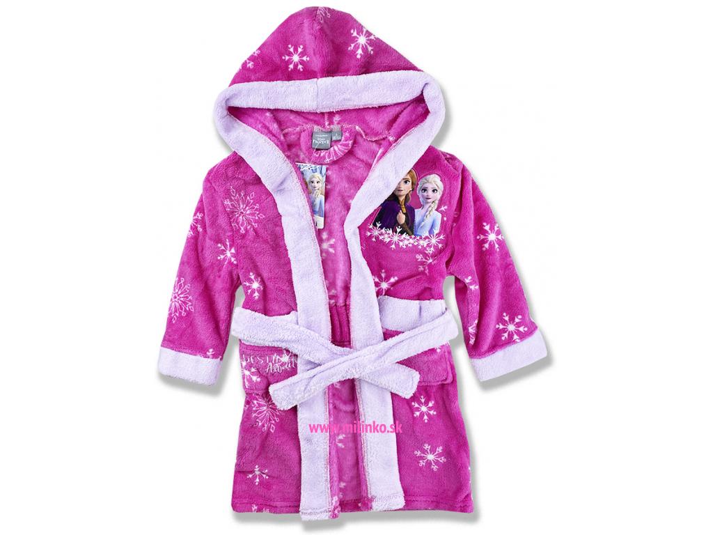 detské oblečenie župan frozen