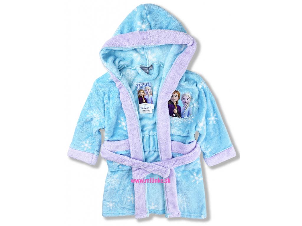 detské oblečenie župan frozen1